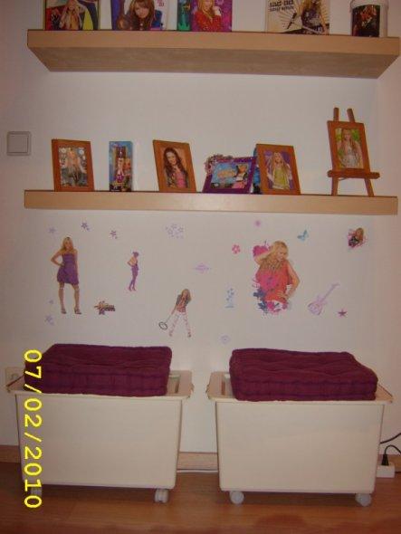 Kinderzimmer 39 hannah montana 39 wohnzimmer zimmerschau - Kinderzimmer hannah ...