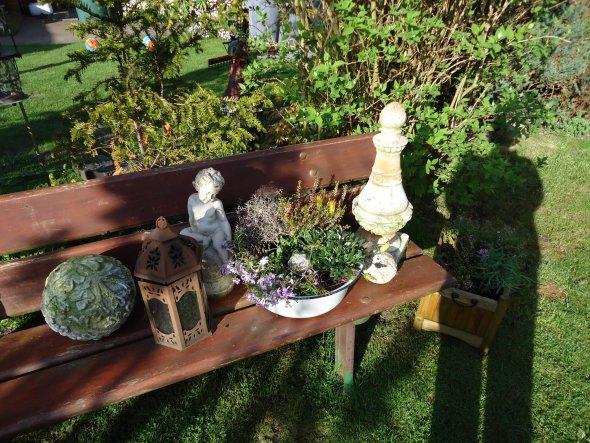 Garten 39 unser garten 39 mein zuhause zimmerschau for Gartendeko aus naturmaterialien