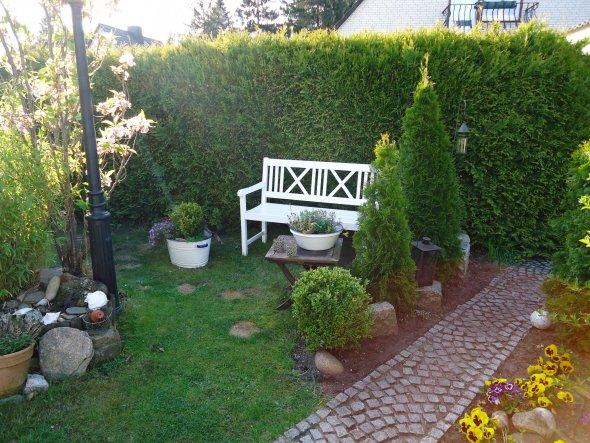 Ein Blick in unseren kleinen Garten