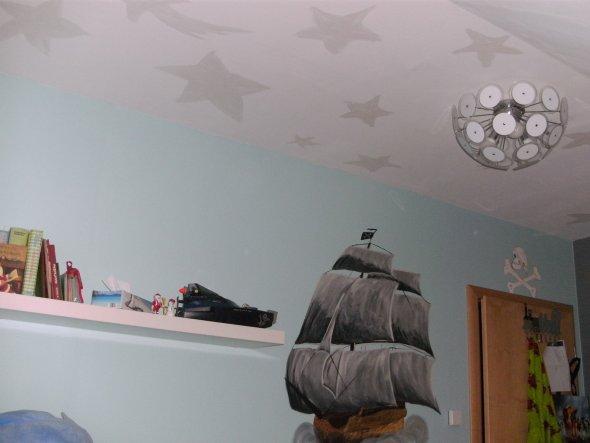 Kinderzimmer 'Piratenzimmer'