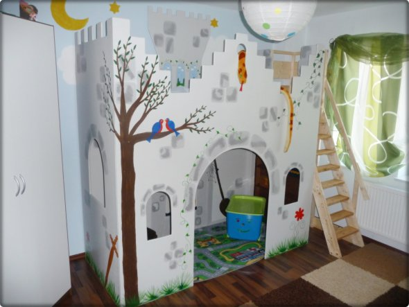 Kinderzimmer \'Max Ritterzimmer\' - Mein Domizil - Zimmerschau