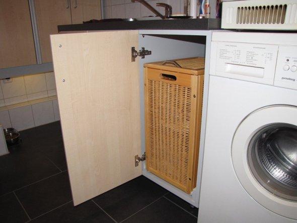 Hier ist die Schmutzwäsche versteckt.