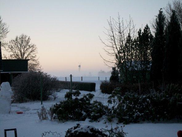 Morgens aufstehen und in die Ferne blicken können, dafür liebe ich den Norden:o)