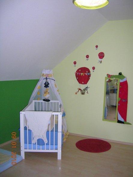 Kinderzimmer 'das grüne Zimmer'