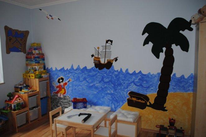 Kinderzimmer 39 finlays piratenzimmer 39 mein domizil - Piratenzimmer deko ...