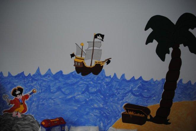 Kinderzimmer 'Finlays Piratenzimmer'