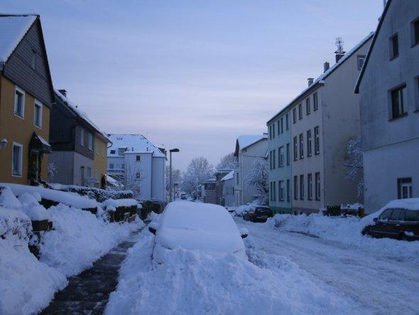 Hausfassade / Außenansichten 'Winter  2010'
