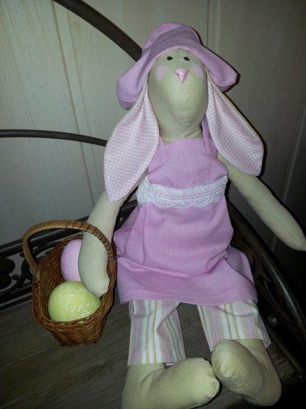 Hasi mit Osterkorb