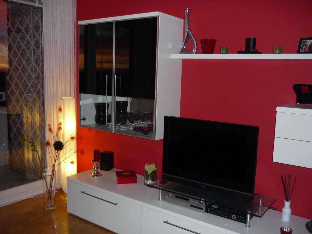 rot und grau wohnen wohnzimmer grau weis rot haus design ideen - Wohnzimmer Rot Weis