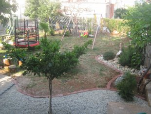Garten in Arbeit