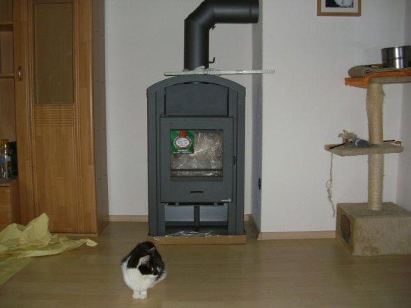 ofen wohnzimmer abstand: Abstand Oberkannte Laminat bis zum Boden genau messen und danach