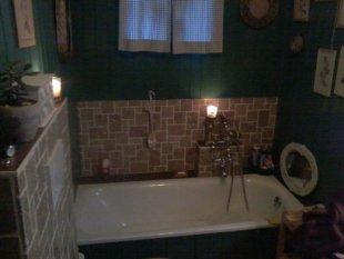 Mein grünes Bad