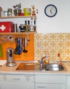 Klitzekleine Küche