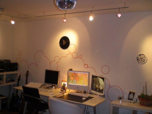 arbeitszimmer b ro 39 arbeiten im wohnzimmer 39 unser ehemaliges wohnreich zimmerschau. Black Bedroom Furniture Sets. Home Design Ideas