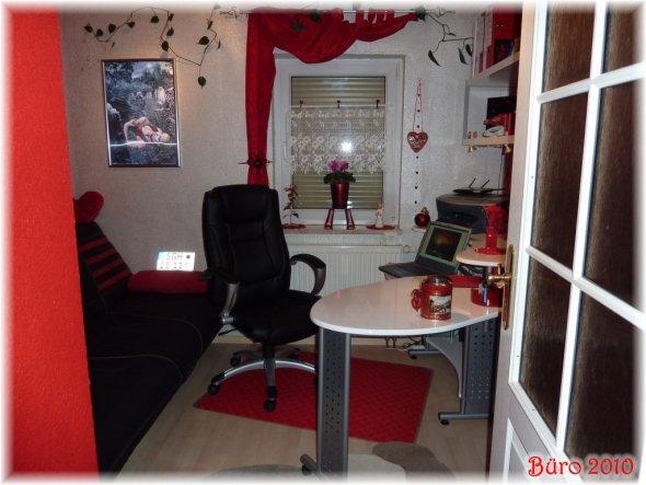 Arbeitszimmer / Büro 'mein Wohlfühl-Hobby-Computer-Zimmer'