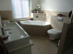 Unser neues Bad