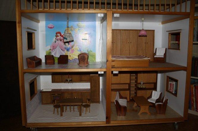 Kinderzimmer 'Barbiehaus'