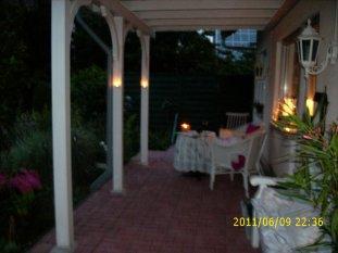 Terrasse bei Nacht Sommer 2011