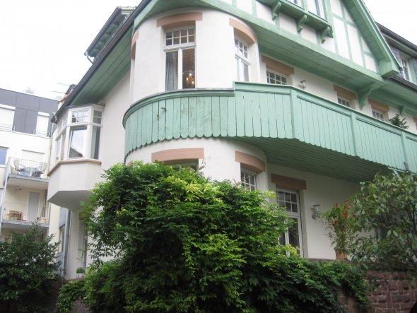 romantisches Heidelberg - wie hier im Stadtteil Neuenheim