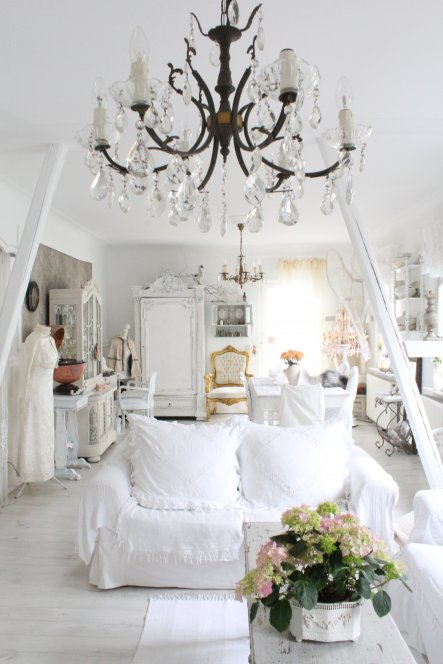 Wohnzimmer 'Unser Wohn-Esszimmer im viktorianischen Stil'