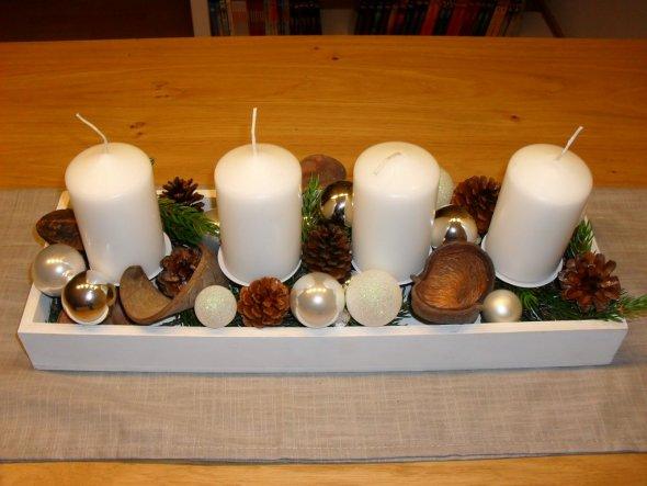 Weihnachtsdeko 'Zeit für Gemütlichkeit'