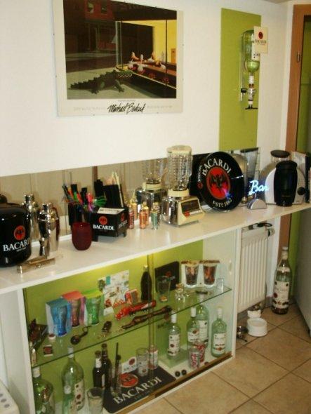Mein ganzer Stolz: Meine Bacardi Sammlung!!