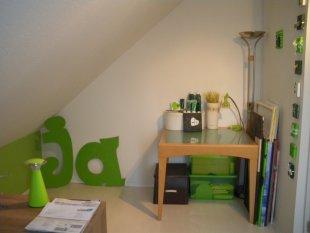 unser Arbeits- und Malzimmer