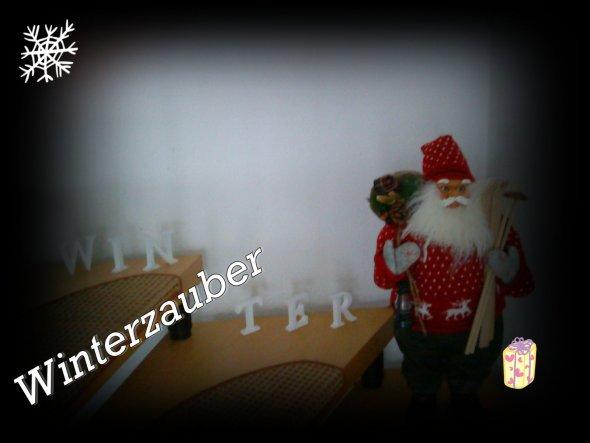 Weihnachtsdeko 'Weihnachtszauber & Lichterglanz'