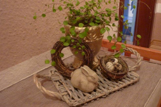 Deko 39 ostern 2011 39 wohlf hl wohnung zimmerschau for Wohnung dekorieren ostern