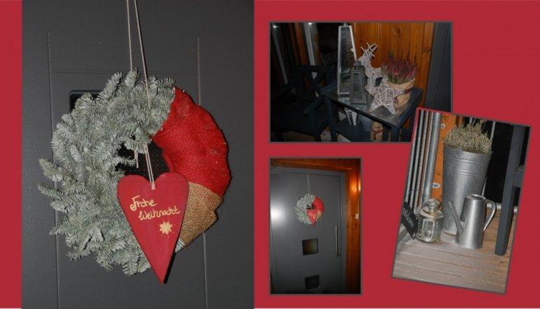 Weihnachtsdeko 'Hilfe es Weihnachtet sehr ... 2010'