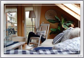 Wohnzimmer -blau-