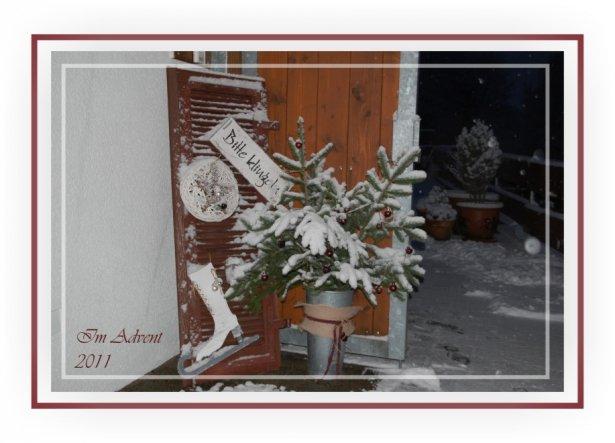Weihnachtsdeko 'Advent 2011'