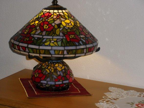 Die bunte Tifany-Lampe !