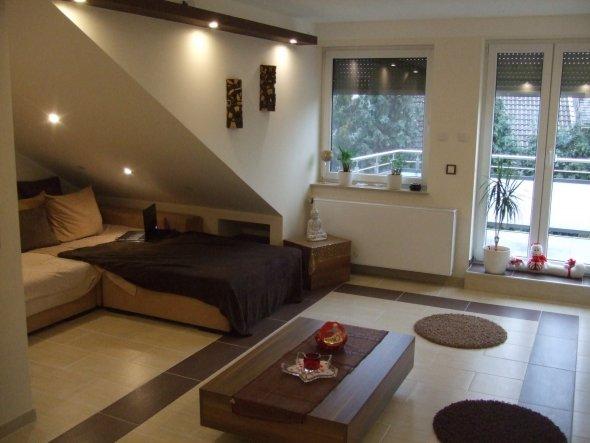 wohnzimmer 'wohnzimmer' - dachgeschoss umbau - zimmerschau, Wohnzimmer dekoo