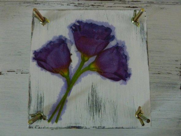 """Blumenpresse """"lila"""""""