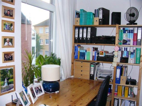 wohnzimmer 39 wohn arbeitszimmer 39 studentenbude zimmerschau. Black Bedroom Furniture Sets. Home Design Ideas
