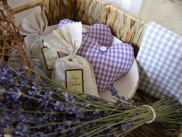 neu: Lavendelsäckchen aus Belgien
