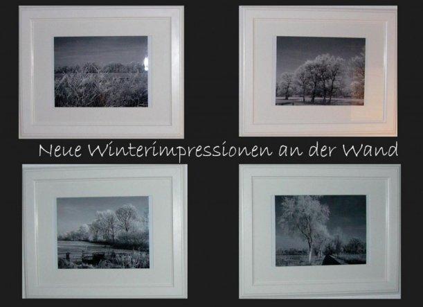die neuesten eigenen Fotos aus der Winterwunderwelt vor 2 Wochen :)