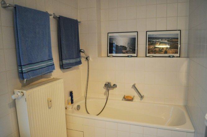 endlich wieder eine Badewanne :-)