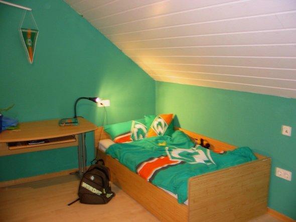 Ds alte Zimmer meines Sohnes ,jetzt unser Schlafzimmer