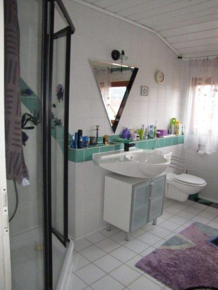Bad 'badezimmer Oben' - Bei Uns - Zimmerschau Badezimmer Von Oben