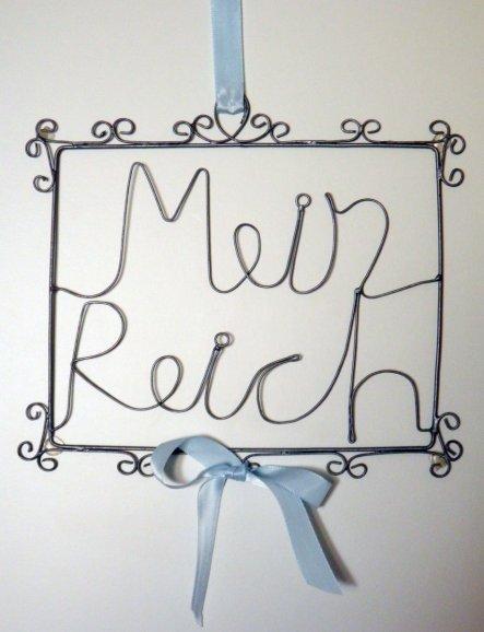 - Türdeko -  Mein oder bessergesagt Max Reich...