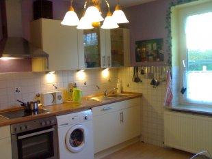 Meine lila Küche