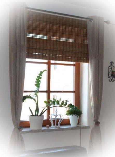 wohnzimmer 39 wohnzimmer mit neuen gardinen 39 unser. Black Bedroom Furniture Sets. Home Design Ideas