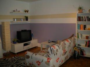Sofa und TV Ecke