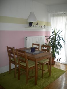 esszimmer 39 wohnk che 39 unsere kleine villa sol zimmerschau. Black Bedroom Furniture Sets. Home Design Ideas