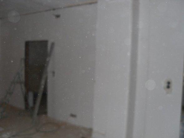 Das neue Wohnzimmer ;-) Sieht schon etwas anders aus als vorher