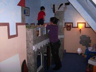 Kinderzimmer 39 ritterzimmer 39 mein domizil zimmerschau - Wanddurchbruch gestalten ...