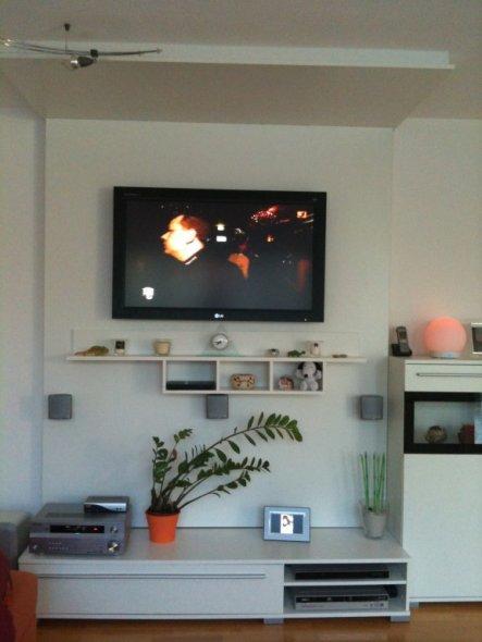 wohnzimmer 39 wohnzimmer mit tv wand 39 my home is my castle zimmerschau. Black Bedroom Furniture Sets. Home Design Ideas