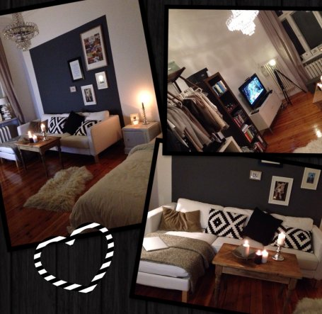Wohnzimmer 'WG-Zimmer'